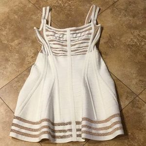 NWT!! Herve Leger Josey Beaded Dress!